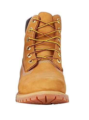 Timberland Damen 6 Zoll Premium wasserdicht Stiefel, Gelb (Wheat Nubuck), 38 EU 2
