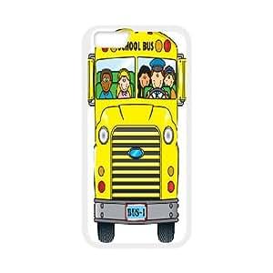 "Custom School Bus Shell Case, DIY School Bus Cover for iPhone6S 4.7"""