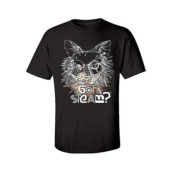 Steampunk Wolf Got Steam? - Kids T-Shirt 3