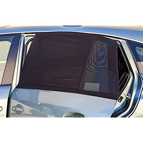 OxGord Back Window Car Sun Shade for Baby (Pack of 2) Universal Fit Air Mesh Screen Sunshade Cover fits Most Cars u0026 SUVs  sc 1 st  Amazon.com & Car Window Screens: Amazon.com