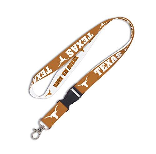 WinCraft NCAA Texas Longhorns Lanyard with Detachable Buckle, One Size, Team ()