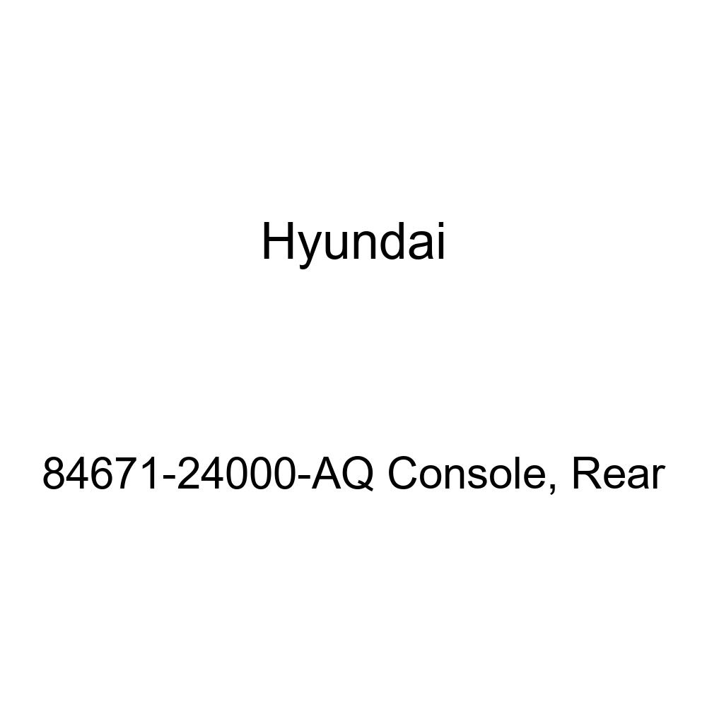 Genuine Hyundai 84671-24000-AQ Console Rear