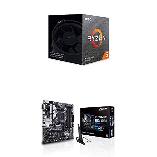 AMD Ryzen 5 3600X CPU + ASUS Prime B550M-A (WI-FI) MB