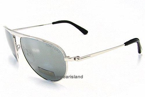 36a7f3fed9ad TOM FORD James Bond 007 TF108 TF-108 Shiny Rhodium 18C Sunglasses   Amazon.co.uk  Clothing