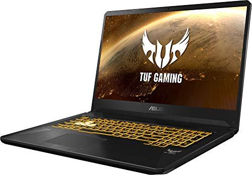 """ASUS TUF Gaming FX705DD-AU017 - Ordenador portátil de 17.3"""" (AMD Ryzen 7 3750H APU, 8 GB RAM, 512 GB SSD, NVIDIA GeForce GTX1050, sin Sistema operativo) Negro - Teclado QWERTY Español 7"""