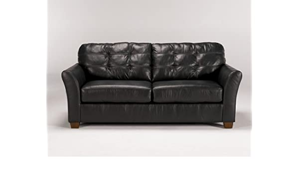 Amazon.com: Famous Collection -Black Sofa by Famous Brand ...