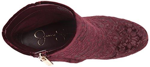 Rund Pumps WOVELLA Frauen Fashion Rouge Stiefel JS Jessica Noir Simpson X146xqwnU