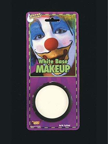 Forum Novelties White Grease Makeup Halloween Zombie Clown Mime Theatrical Stage [Toy] One Size, Multicolor]()