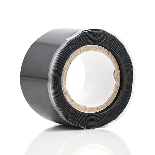 ubber Repair Tape All Purpose Silicone Self Fusing Tapes Amalgamation Rubber Tapes Seal Repair Plumbers Tape For Emergency Pipe Plumbing & Water Hose Leaks (1-roll) (All Purpose Silicone Rubber)
