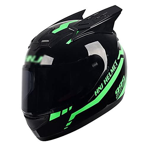 LIXIAOHONGG Flip Up Motorhelm Modulaire ECE, Full Face Motorbike Crash Rider Biker Sport Motorhelm Motorfiets Volledige…