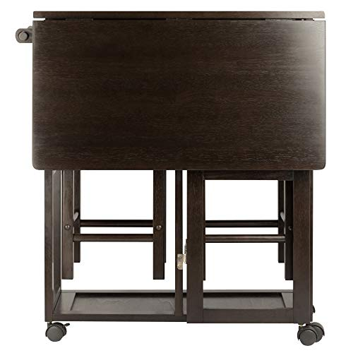 Winsome Wood 23330 Suzanne 3-PC Set Space Saver Kitchen, Smoke by Winsome Wood (Image #6)