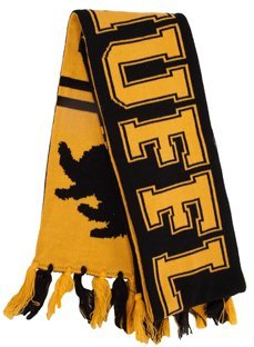 elope Harry Potter Hogwarts House Reversible Knit Scarf, (Hufflepuff House Scarf)