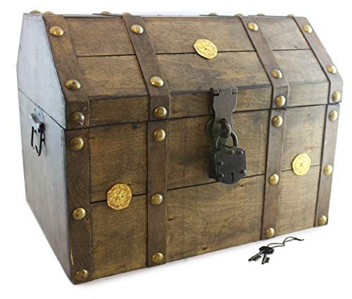 Well Pack Box Pirate Treasure Chest Box 16