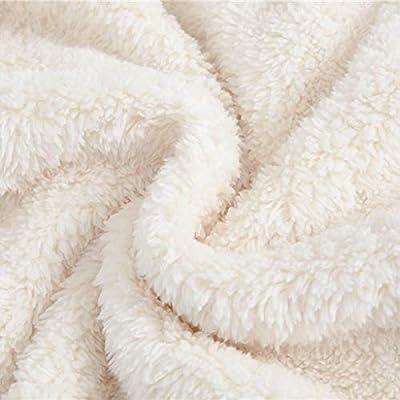 QGhead Toddler Baby Boys Girls Fuzzy Fleece Coat Winter Warm Bear Ear Hooded Sweatshirt Outwear Clothes: Clothing