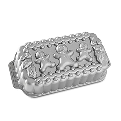 Nordicware 59934 Gingerbread Family Loaf Pan Nordic Ware 89848