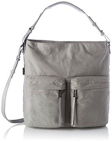 Marc OPolo Hobo Bag, Borse a spalla Donna Grigio (Light Grey)