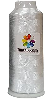 Huge Spool BLACK Embroidery Machine Bobbin Thread