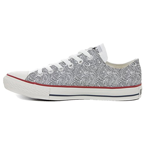artisanal Paisley Light Star Chaussures Coutume produit Converse All 7q8BOB