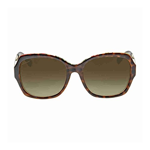 Gucci - GG 3803/F/S ASIAN FIT, Oversize, optyl, women, HAVANA GOLD FLOWER FANTASY/BROWN SHADED(2EZ/HA), - Sunglasses Gucci Oversized Square