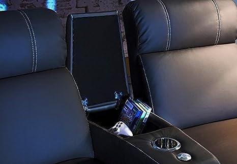 Möbel Akut Kinosofa Cinema Sessel Hollywood 4 Sitzer Kinosessel