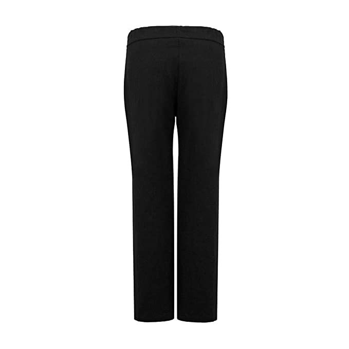 Amazon.com: DongDong Pantalones de pierna ancha para mujer ...