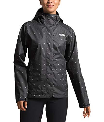 The North Face Women's Print Venture Jacket, Asphalt Grey Moon Phases Print, Size L ()