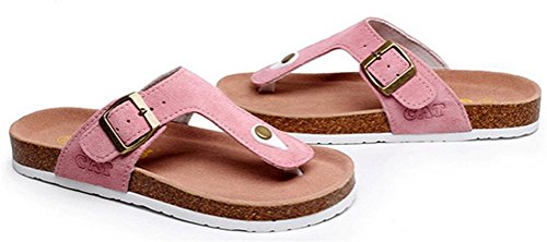Sandals Slippers Soft Plus Pink Keen Athletic Thong Footed Leather Womens Size Flat Ladies A1wWqaxSz