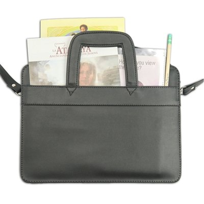 """The """"Caleb Case"""" Charming Leatherette Child's Briefcase"""