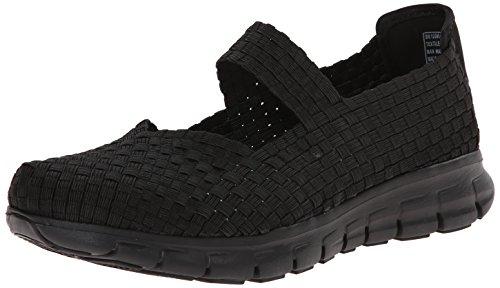SKECHERS SYNERGY - CLEAR SKIES Zapatillas de deporte Talla 36, Color NEGRO