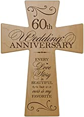 Modern & Traditional 60th Wedding Anniversary Gifts for Women & Men