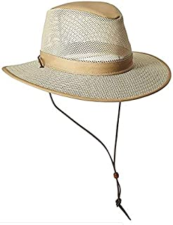 product image for Henschel Hats Breezer Aussie Hat, Khaki, Boxed Medium