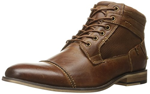 Steve Madden Men's Jensunn Boot, Dark Tan, 10 M US