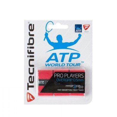 Tecnifibre-Pro Players Tennis Overgrip 3 Pack-(3490150121491) ()