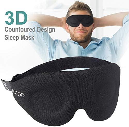NEWVANGA Contoured Comfortable Lightweight Blindfold product image