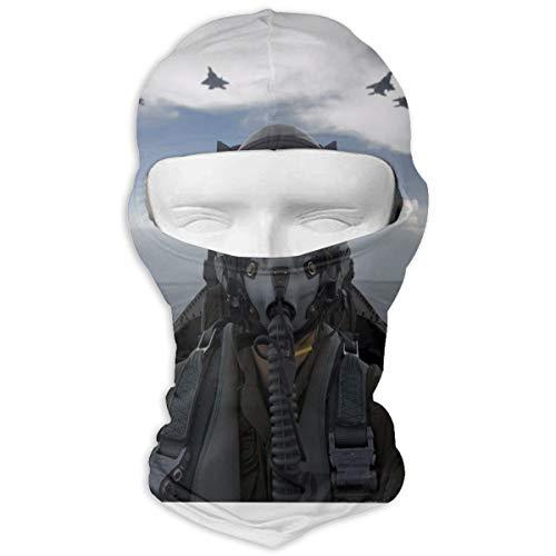 Laxoinh Fighter Plane Pilot Sports Breathable Mash Balaclava Full Face Mask Masked Hoods Hat Full Face Mask Hood