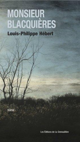 Monsieur Blacquières Louis-Philippe Hébert