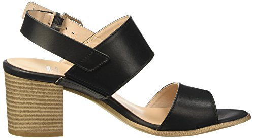 BATA 6646205, Sandalias para Mujer Negro (Nero)