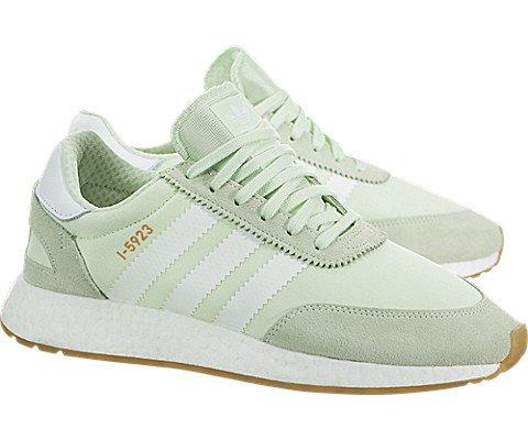 adidas Iniki Runner Womens In Aero Green/White, 9