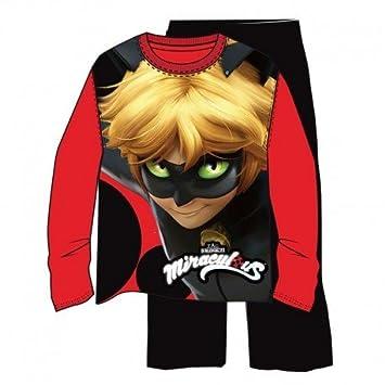 Conjunto pijama Prodigiosa Ladybug Cat Noir,2unidades por pedido