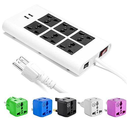 yubi-power-universal-power-strip-w-6-sockets-2-usb-ports-100v-to-220v-250v-surge-protection-circuit-