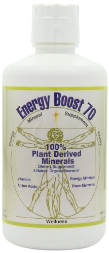 Morningstar Minerals Energy Boost 70 Mineral Supplement , 32 oz (946 ml)