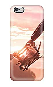 For Iphone 6 Plus Tpu Phone Case Cover(hubschrauber Aircraft In Avatar) 6472553K42952074