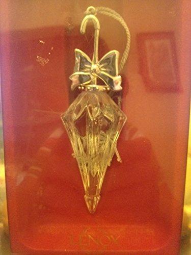 lenox vintage parasol Pave Jewels Full Lead Crystal Hanging ornament