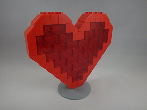 BrickCrafts Build-Your-Own LEGO Valentine Heart