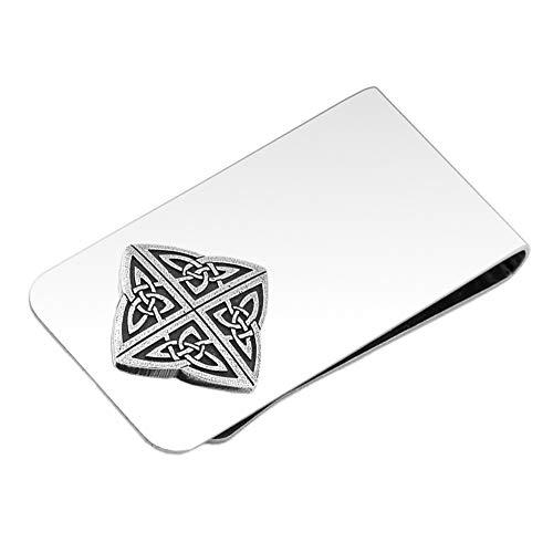 DANFORTH - Celtic Knot Money Clip - 2 Inches - Gift Boxed (Celtic Money Clip)