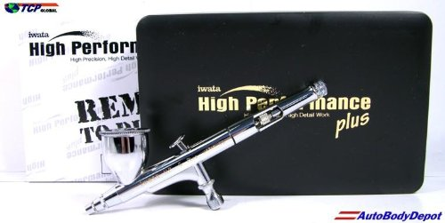- IWATA HP-C PLUS High Performance AIRBRUSH w/FREE HOSE!