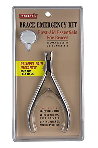 The Doctor's Brace Emergency Kit, First Aid Essentials for Braces ()