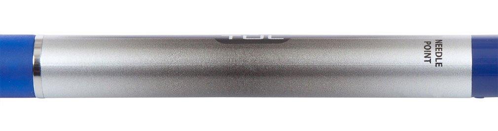 TUL GL1 Gel Pen Retractable Needle Point Medium 0.7mm, Blue 12/pk + ''IdeaPad'' Post-It Notes (200-ct) Bundle by TUL (Image #5)