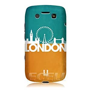 Bloutina Head Case London Silhouette Skyline Design Protective Back Case Cover for BlackBerry Bold 9790