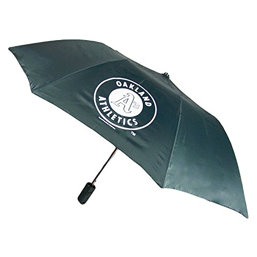 Coopersburg Oakland Athletics Official MLB Automatic Folding Umbrella Canopy by Sports 196998 - Mlb Umbrella